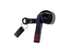 Wholesale Embroidery Belt - Hot sale Free Shipping New Famous brand belt men Embroidery Y-3 belt unisex buckles streetwear yellow balck blue wholesale