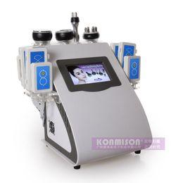 тонкие вибраторы Скидка 2017 Новые 5 в 1 лазер для похудения жира потеря веса массаж тела вибратор машина RF система похудения машина для похудения