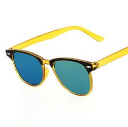 Wholesale Candy Films - Candy Color Film Sunglass Men Women 2017 Retro Sunglasses Women Brand Designer Elegant Sun Glasses 10Pcs Lot Free Shipping