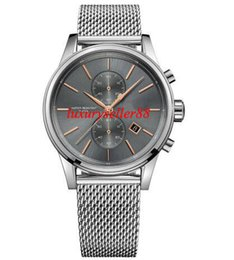 Wholesale Herren Uhr - New 1513440 Herren Chronograph Chrono Uhr Analog Mens Watch 41mm
