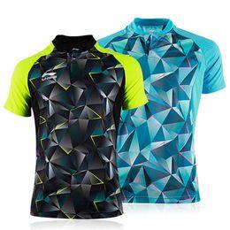Revestimiento nuevo camisas de tenis de mesa para hombres / mujeres ropa de tenis de mesa deportes de verano deportes camiseta envío libre rápida absorción de humedad desde fabricantes