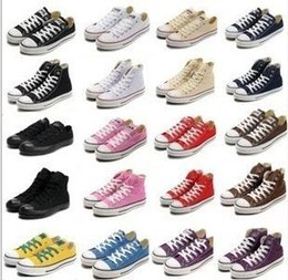 Wholesale Buckle Board - DORP shipping 2018 all size 35-47 Unisex Men Women Low High Style Canvas Shoes Clasic Casual Sneakers for women,Board Shoes