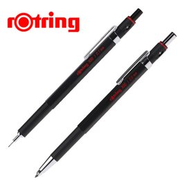 Wholesale German Painting - Wholesale- Genuine German Rotring 300 Mechanical Pencil 0.5mm 0.7mm 2.0mm for Graphics Design Stationery School & Office Supplies