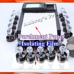 Wholesale Making Seal - Wholesale- 10 Sheets A4 Isolating Film for Photosensitive Portrait Flash Stamp Machine Kit Selfinking Stamping Making Seal