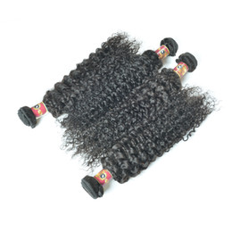 Wholesale Cheap Remy Hair Sale - Hot sale Peruvian Kinky Curly Hair Extensions Bundles 3Pcs lot Brazilian Peruvian Malaysian Virgin Remy Hair Cheap Human Curly Hair Weaves