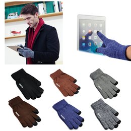 Wholesale Gloves For Ipad - Universal Original iwarm Anti-skid Touch Screen Glove Warm Winter Driving Gloves Touchscreen For ipad iPhone Samsung Tab Tablet Gift