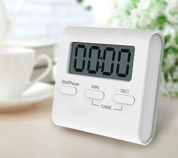 Timers online-Temporizador de cocina digital LCD magnético cuenta atrás Cocción de huevo Hornear alarma fuerte