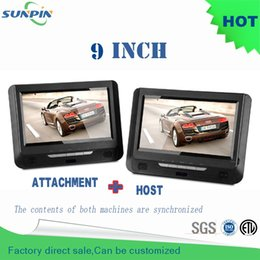 Wholesale Portable Dvd Player Cars - Wholesale-2016 Real Reproductor Dvd Porta Cd Free Shipping 9 Inch Car Portable Dvd Player Support For Sd Card