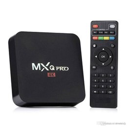Wholesale Tv Smart Boxes Best Price - Best Price MXQ Pro 4K Smart Android 6.0 TV Box RK3229 Quad Core 1GB 8GB Media Player Fully Loaded KD16.1 Jarvis