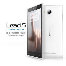 "Wholesale Core Lead - LEAGOO LEAD 5 5.0"" MTK6582 Quad Core Unlocked Cell Phones 1G RAM 8G ROM 8.0MP Camera Android 4.4 Phone"
