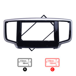 Wholesale Car Audio Frame - FEELDO Car 2DIN Refitting DVD Frame Panel Dash Kit Fascia Radio Audio Frame for 2014 Honda Odyssey #4065