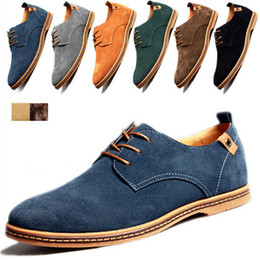 Wholesale New Oxford Khaki - Wholesale-2015 New Fashion Boots Summer Cool&Winter Warm Men Shoes Leather Shoes Men's Flats Shoes Low Men Casual For Men Oxford Shoes