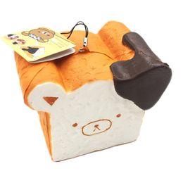 Wholesale trade easy - Foreign trade boutique Rilakkuma easy bear toast Box Pendant ornaments Squishy