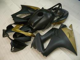 Wholesale Honda Vfr Fairing Kit - Fairing Kits VFR 800 04 05 Bodywork VFR800 10 11 Black Gold Plastic Fairings for Honda VFR800 08 09 2002 - 2013