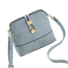 Wholesale Over Lock - Wholesale-women bag handbags over shoulder crossbody sling summer leather messenger Scrub shell Lock fashion small ladies luxury brand