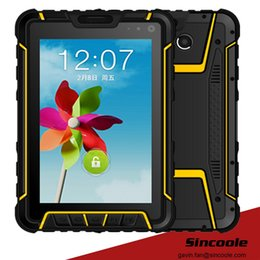 Wholesale Rugged 3g Phone - 7 inch 2D barcode 1D scanner rugged tablet, industrial panel PC