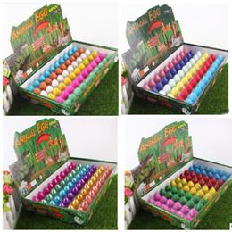 Wholesale Educational Egg - 60pcs lot Novelty Water Hatching Inflation Dinosaur Eggs Toys Surprise Eggs Educational Toys Interesting Gift Dinosaur Model
