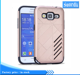 Wholesale S7562 Cases - 100 pcs lot Caseology Armor TPU PC Rugged Shockproof Defender Hybrid Protective Case Back Cover For Samsung Galaxy A8 A9 S7562 G7106 G360