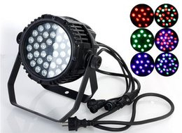 Wholesale Dmx 8ch - Factory price Waterproof AC110-240V 54W RGBW Wall Washer LED Stage lights Par Lighting DJ Stage Lights floodlights with 8CH DMX512 control