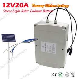 Wholesale Battery Solar 48v - 12V20A Powerbank Lithium External Battery Solar China Energy Storage Storage Control Integration 12V 2000mah Solar Street Lamps
