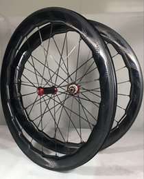 Wholesale Road Bike Decals - 2018 NSW 454 decal 25X58mm Dimple Wheel 700C Road bike full carbon wheelset clincher rims wavy crow's-feet brake surface made in taiwan