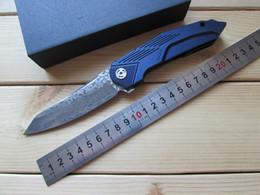 Wholesale Ceramic Combat Knives - Replica Clone SGY CNC Vg10 Damascus Blade TC4 Handle Flipper Ceramics Bearing Tactical Survival Camping Combat Hunting Tools Folding Knife