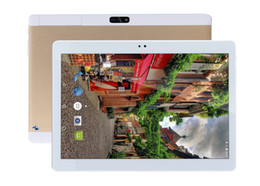 Wholesale Tablet Dual Camera 3g Phone - MaiTai 10.1 Inch Tablet Pc Android 7.1 Octa Core 64G ROM 4G RAM Tablets Pc 2560*1600 WIFI 3G Call GPS IPS Metal Gold 10 9 8 7
