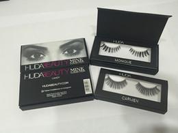 Wholesale New Eyelashes - New 20 style New Upscale box False Eyelashes handmade Fake Lashes Voluminous Fake Eyelashes For Eye Lashes Makeup