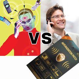 Wholesale Electromagnetic Radiation - 2015 New Anti Radiation Sticker Cell Phone Electromagnetic Shield Via DHL Shipping