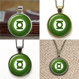 Wholesale Inspired Rings - 10pcs Green Lantern ring symbol inspired Necklace keyring bookmark cufflink earring bracelet