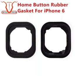 Wholesale Home Button Rubber Gasket For iPhone G I6 Key Keypad Rubber Gasket Gadget Sticker Adhesive Holder Cap Pad Ring Spacer Replacement Parts
