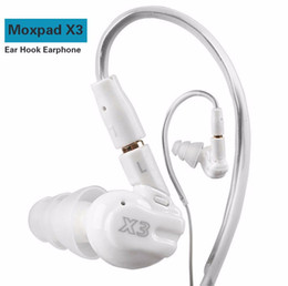 Wholesale Oppo Cell - Moxpad X3 In-ear sports Earphones with Mic for Huawei OPPO ,Mobile Cell Phones,Replacement Cable+Noise Isolating headset