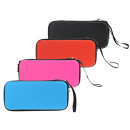 Wholesale Travel Bag For Cables - 2017 4 colors Hard Travel Protective Storage Pouch Bag with strap for game cards cables headsets For Nintendo Switch