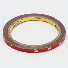 Wholesale 6mm Double Sided Tape - Wholesale- 2016 Wholesale 2X 3m 300cm 6mm Foam Tape Car Auto Truck Acrylic Attachment Double Side Adhesive
