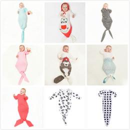 Wholesale Cute Maternity Clothing - Fashion Cute 100% Cotton Clothing Style Unisex Baby Sleeping Bags Baby Pajamas Mermaid Bear Sleeping Bags Anti Tipi Baby Kids Maternity