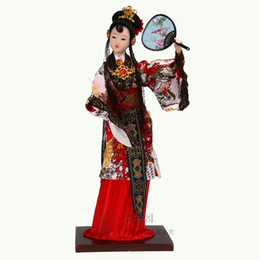 Wholesale Doll Ceramic - Authentic Beijing Tang Fang silk doll doll handicraft gift souvenir ornaments business affairs