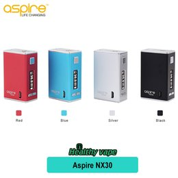 Wholesale Ups Power Metal - Original Aspire NX30 Rover Box Mod 2000mAh powers up to 30 watts by a built-in LiPo battery Micro-USB charging port e cigarette
