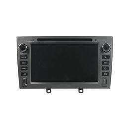 Sistema operativo chino online-Reproductor de DVD de 7 pulgadas para Peugeot 408 con GPS, control del volante, Bluetooth, radio, Andriod 5.1 OS