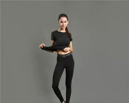 Wholesale Elastic Pants Girls - Sports Tights Pants Girls Running Fitness Yoga Pants Pure Color Quick Dry Breathable
