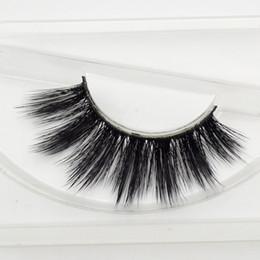 Wholesale Wholesale Professional Mink Eyelashes - Wholesale- Sophia Beauty mink eyelashes 3D MINK False Eyelashes Messy Cross Dramatic Fake Eye Lashes Professional Makeup Lashes