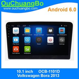 Wholesale Vw Os - Ouchuangbo car audio media player gps for VW Bora 2013 support HD screen 3G WIFI android 6.0 OS