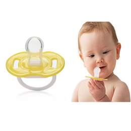 Wholesale Pacifier Baby Shower Favor - Wholesale-1pc Baby Pacifier Clips Smoother Infant Shower Favor Pacifiers Baby Care Products New 2015 -- MKA012 PT49 Wholesale