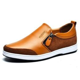 Cómodos zapatos hombres online-Alta calidad de cuero de vaca genuina zapatos de hombre mocasines suaves mocasines hombres de la marca de moda cómodos zapatos de conducción envío gratis