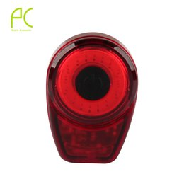 Wholesale Night Ride Bike Light - Wholesale- PCycling USB Rechargeable Bicycle Taillight 6 Modes Waterproof Rear Cycling Warning Light Night Riding Lights Bike Lamp