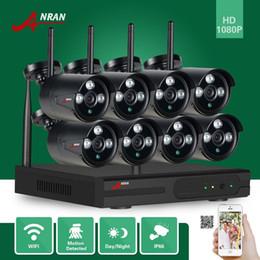 Canada ANRAN P2P HDMI 8CH 1080P WIFI NVR 2MP Extérieur 3 Rangées IR Étanche Sans Fil IP Caméra CCTV Vidéo Système de Surveillance de Sécurité supplier ip cctv surveillance system Offre