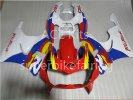 Wholesale Honda Cbr Gifts - 3 free gifts For HONDA CBR900RR 96 97 CBR 900RR 893 1996 1997 Red white blue Fairings AS5