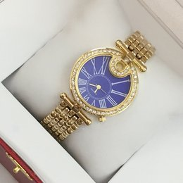 Wholesale Sexy Hot Top Women - 2017 Top fashion brand golden watch with diamond women sexy rose gold silver luxury bracelet wristwatch free shipping party watches hot sale