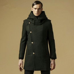 Dropshipping Designer Pea Coat Men UK   Free UK Delivery on ...