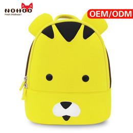 Wholesale Toddler Girl Cartoon Bags - Children School Bag Factory Price Neoprene Waterproof 3d Animal Cartoon Baby Toddler Backpack Bag