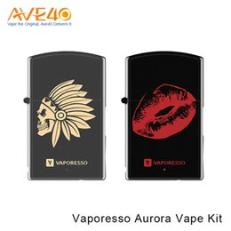 Wholesale Vaporesso Zippo Mini Aurora Vape Starter Kit ml Tank Kit Internal mAh Battery with ohm CCELL Coil